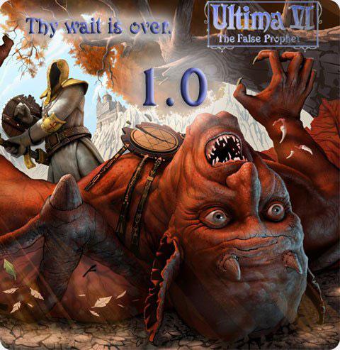 Ultima 6 Project: Ultima VI - The False Prophet Deutsche  Texte, Untertitel, Menüs, Videos Cover