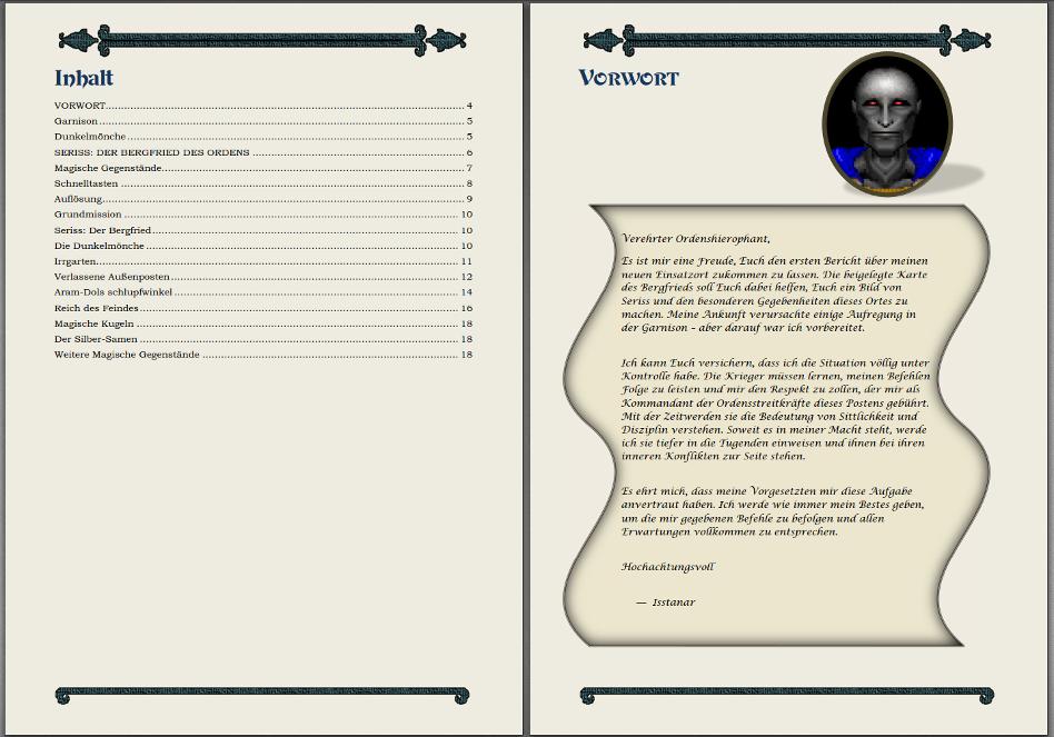 Handbuch U7 Teil 2 - Der Silber Samen